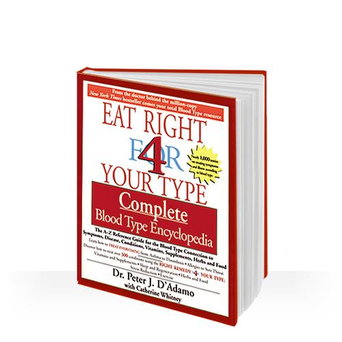 Blood type diet encyklopedia