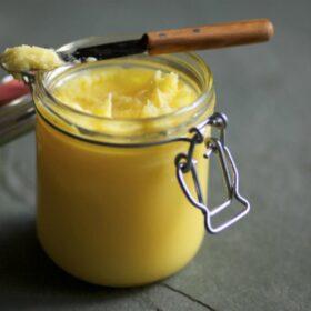 ghí přepuštěné máslo