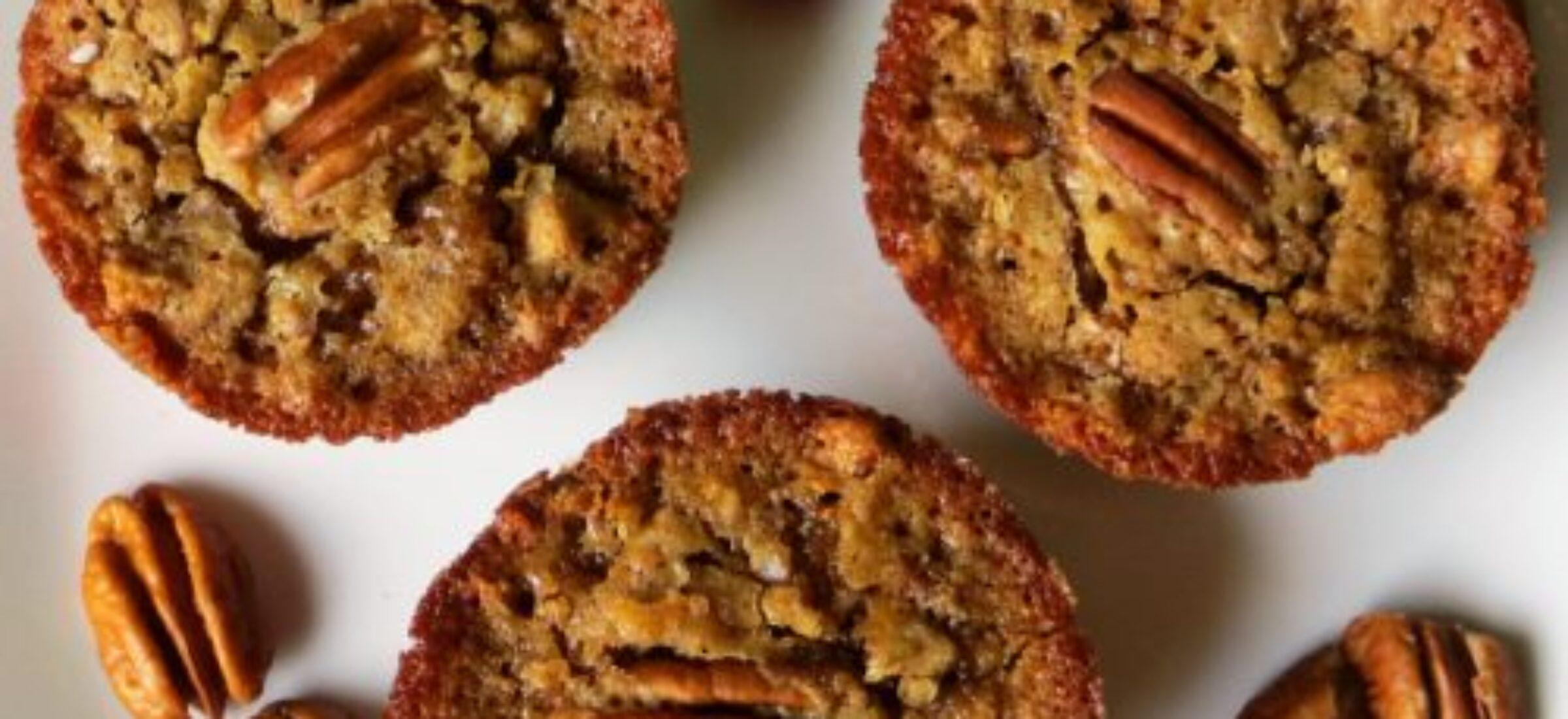 Pekanový muffin