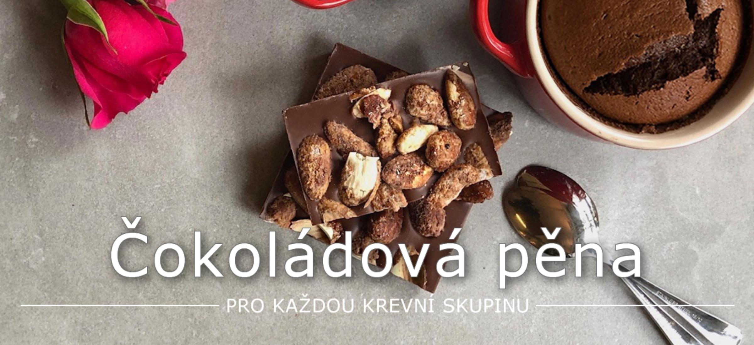 Pečená čokoládová pěna